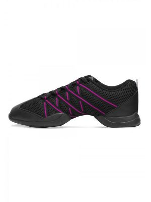 Bloch Criss Cross black-pink S0524
