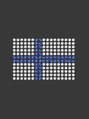 Swarovski iso lippu