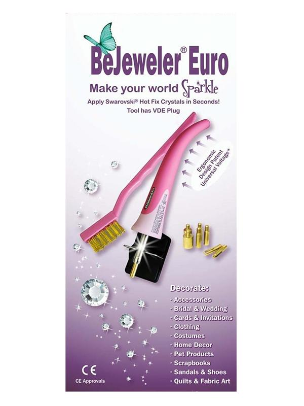 BeJeweler Euro strassinkiinnityslaite