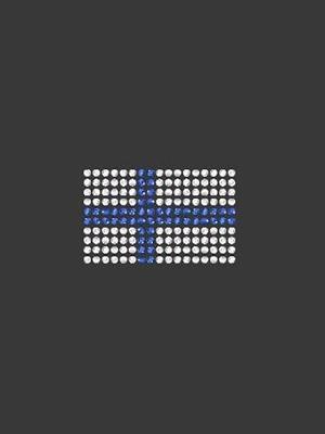 Swarovski pieni lippu